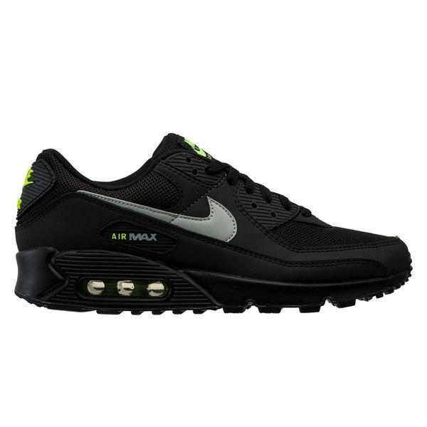 Nike Air Max 90 - Noir/Gris/Jaune Fluo
