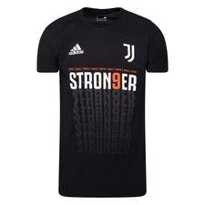 Juventus T-Shirt Serie A Mästare 2019/20 - Svart/Vit