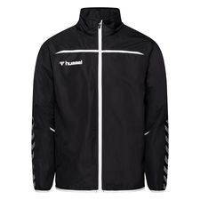 Hummel Trainingsjacke Authentic - Schwarz/Weiß Kinder