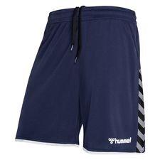 Hummel Shorts Authentic Poly - Navy/Schwarz