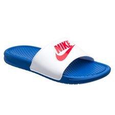 Nike Badelatschen Benassi JDI - Blau/Rot/Weiß