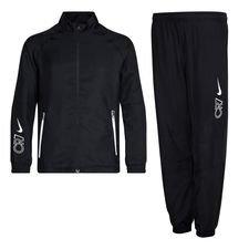 Nike Trainingspak Woven CR7 Dream Speed 3 - Zwart/Wit Kinderen