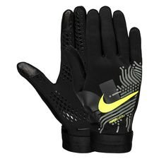 Nike Spillehandsker Academy Hyperwarm Air - Sort/Neon thumbnail