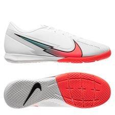 Nike Mercurial Vapor 13 Academy IC - Hvid/Orange
