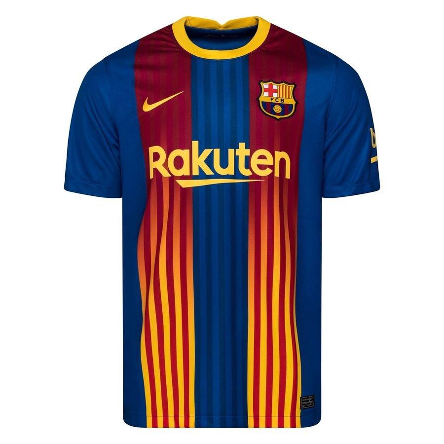 Barcelona Spillertrøje Senyera 2020/21 Børn