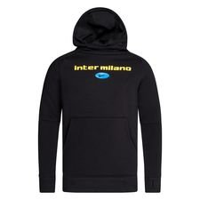 Inter Luvtröja Fleece PO - Svart Barn