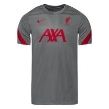 Liverpool Tränings T-Shirt Breathe Strike - Grå/Röd