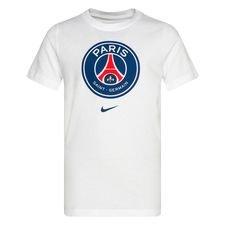 Paris Saint-Germain T-Shirt Crest - Vit Barn