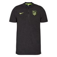Atletico Madrid Piké NSW Authentic Grand Slam - Grå/Neon