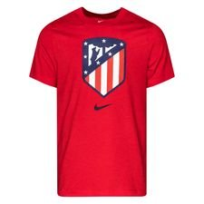 Atletico Madrid T-Shirt Evergreen - Röd/Blå