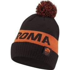 Roma Mössa Pom - Svart/Orange