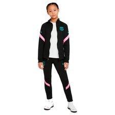 Barcelona Trainingsanzug Dry Strike - Schwarz/Pink Beam/New Green Kinder