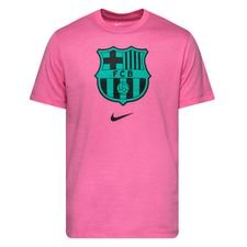 Barcelona T-Shirt Crest - Rosa