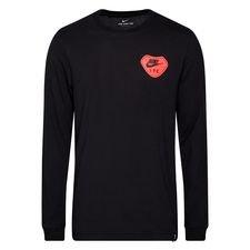 Liverpool T-Shirt Travel - Svart/Röd Långärmad