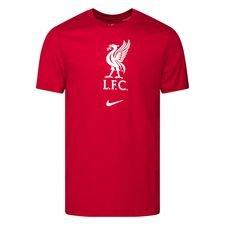 Liverpool T-Shirt Evergreen - Röd/Vit