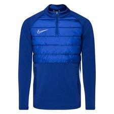 Nike Trainingsshirt Padded Academy Drill - Navy/Silber