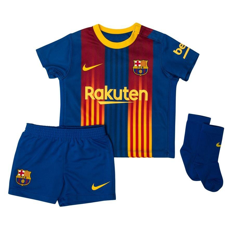 Barcelona Spilletrøje Senyera 2020/21 Baby-Ki