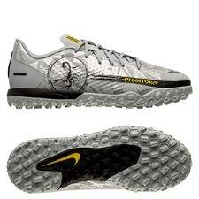 Nike Phantom GT Academy TF Scorpion - Grå/Sølv/Sort Børn LIMITED EDITION