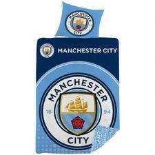 Manchester City Sängkläder 135 x 200 cm - Blå