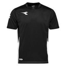 Diadora Tränings T-Shirt Equipo - Svart/Vit Barn