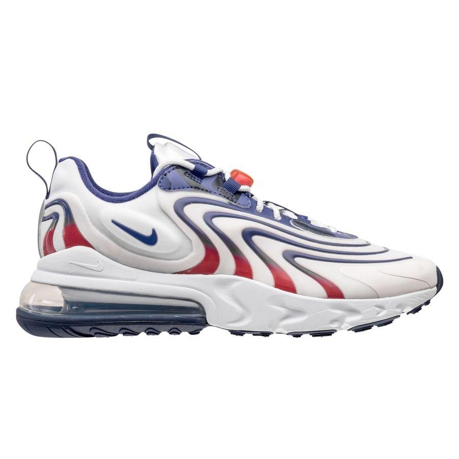 Nike Chaussures Air Max 270 React ENG - Blanc/Bleu/Rouge