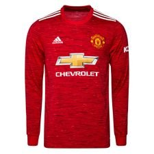 Manchester United Hemmatröja 2020/21 Långärmad