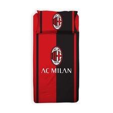 Milan Sängkläder - Röd/Svart