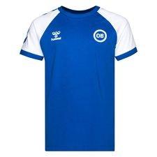 Odense Boldklub T-Shirt Fan - Blå/Vit Barn