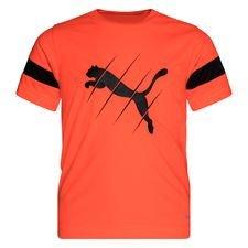 PUMA Training T-Shirt ftblPLAY Logo - Rot/Schwarz Kinder