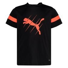 PUMA Training T-Shirt ftblPLAY Logo - Schwarz/Rot Kinder