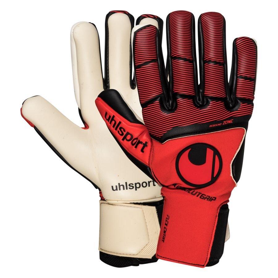 Uhlsport Keepershandschoenen Pure Force Absolutgrip HN - Rood/Zwart/Wit