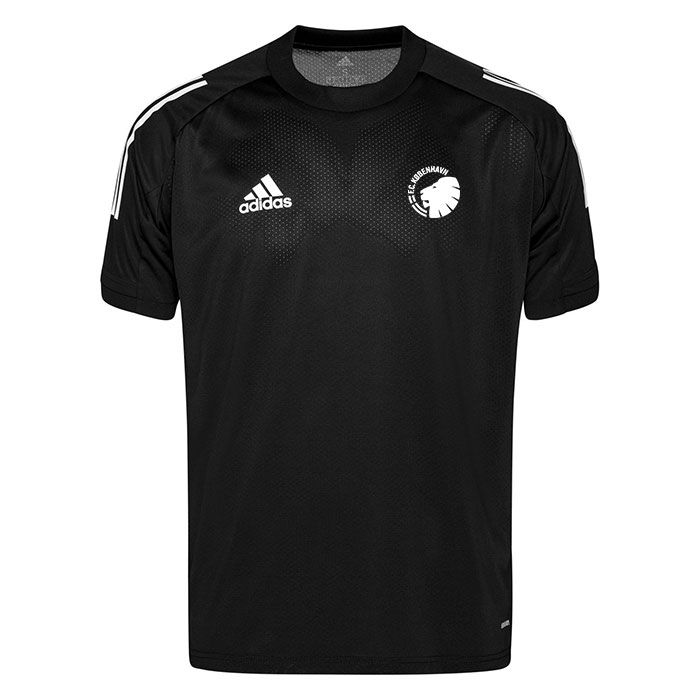 F.C. København Trænings T-Shirt Condivo 20 - Sort/Hvid Børn