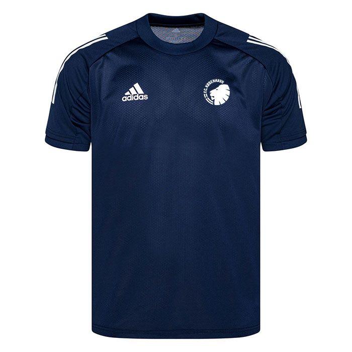 F.C. København Trænings T-Shirt Condivo 20 - Blå/Hvid Børn