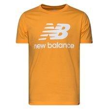 New Balance T-Shirt Essentials - Orange/Weiß