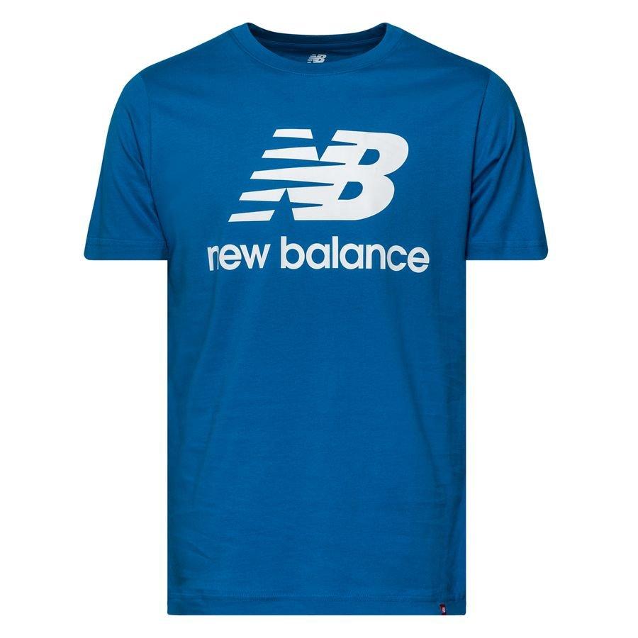 New Balance Essentials T-Shirt - Blå/Vit