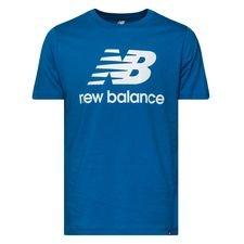 New Balance Essentials T-Shirt - Blau/Weiß