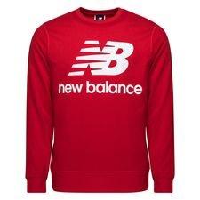 New Balance Essentials Crewneck Logo - Rot/Weiß