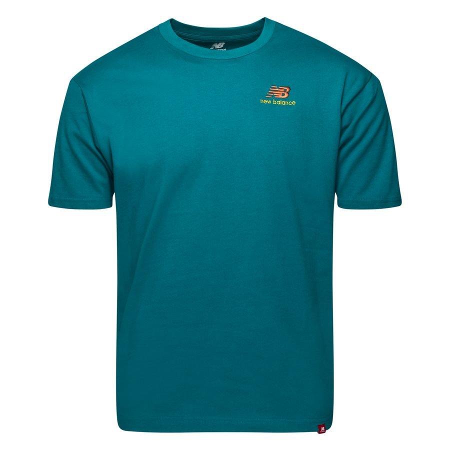 New Balance T-Shirt Essential - Turkos