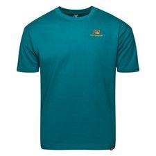 New Balance T-shirt Essential - Blau
