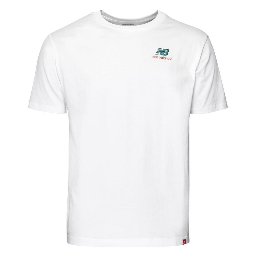 New Balance T-Shirt Essential - Vit
