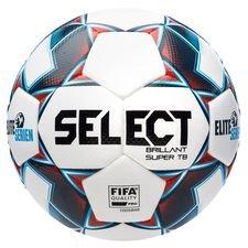 Select Fotboll Brillant Super TB V21 Eliteserien - Vit/Blå