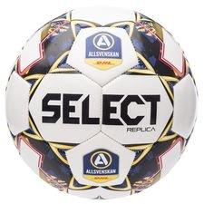 Select Fotboll Brillant Replica V21 Allsvenskan - Vit/Blå