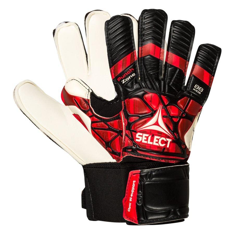 Select Keepershandschoenen 88 Pro Grip - Zwart/Rood/Wit Kinderen
