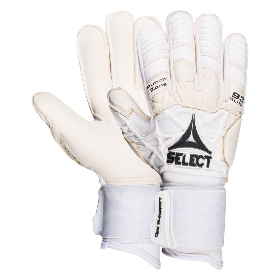 Select Keepershandschoenen 93 Elite V21 - Wit/Zwart