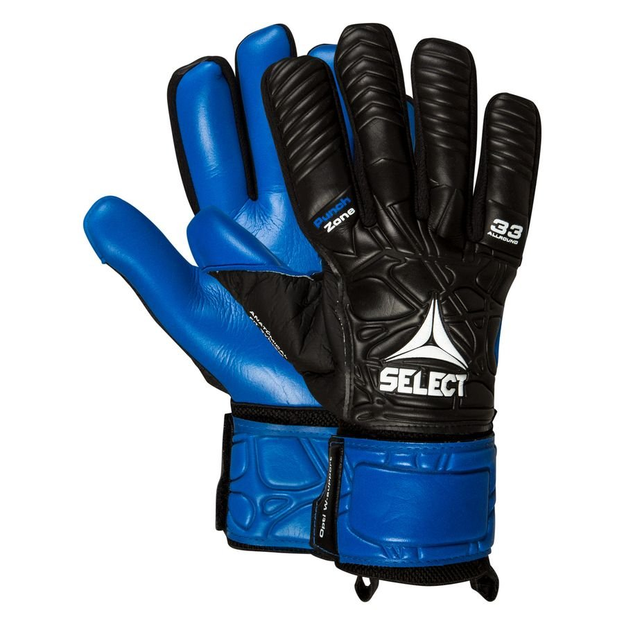 Select Keepershandschoenen 33 Allround - Zwart/Blauw