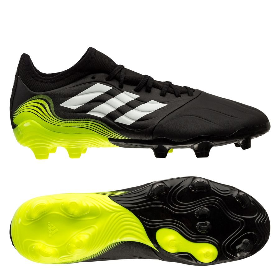 adidas Copa Sense .3 FG/AG Superlative - Sort/Hvid/Gul thumbnail