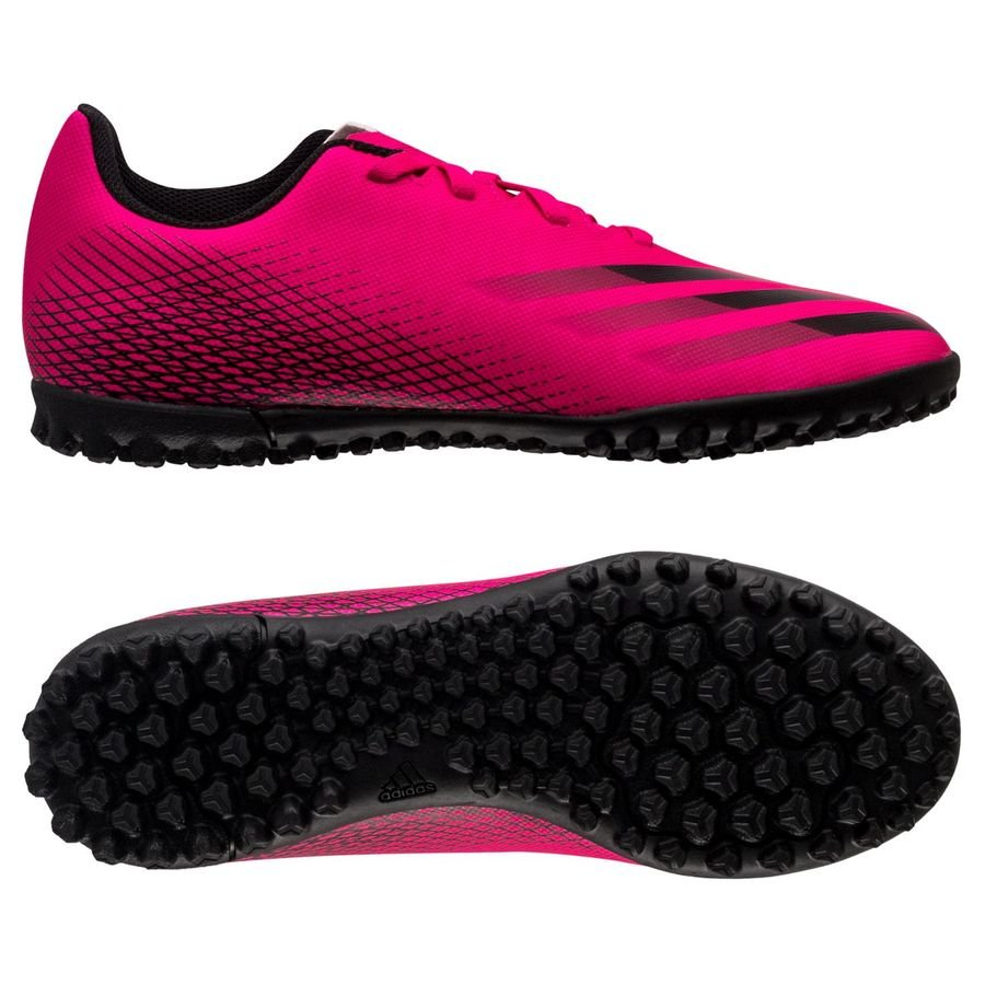 adidas X Ghosted .4 TF Superspectral - Pink/Sort Børn