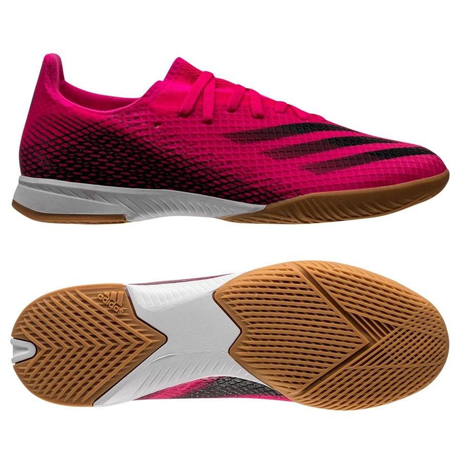 adidas X Ghosted .3 IN Superspectral - Pink/Sort/Orange Børn