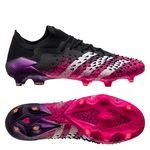 adidas Predator Freak .1 Low FG/AG Superspectral - Schwarz/Weiß/Pink
