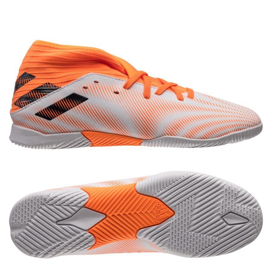 adidas Nemeziz .3 IN Superspectral - Hvid/Orange/Sort Børn